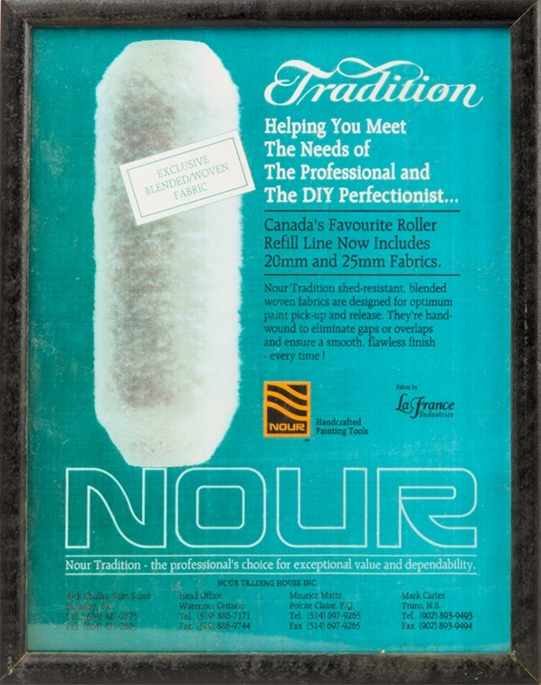 Nour Tradition Line advertisement
