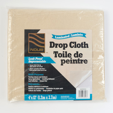 Image of Laminated Drop Cloth